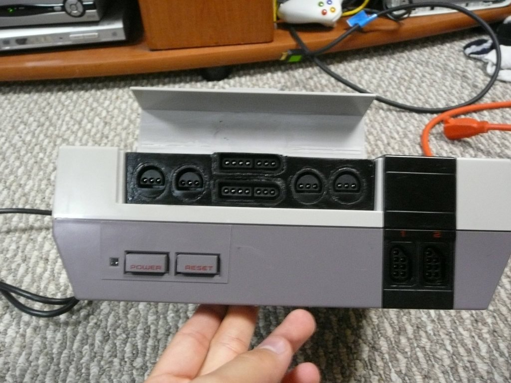 Redditor WoolyDawg5's NES emulator mod is an amazing piece of home built tech!    Reddit