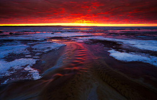 Burning river (by Andrei Reinol)