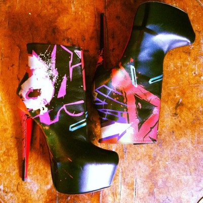 Christian Louboutin A flawless example of the Daf Tag booties from Louboutin's Instagram