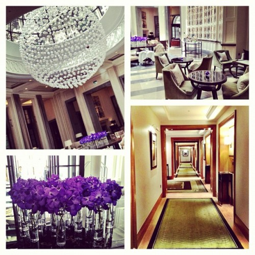 What a hotel! The beautiful Corinthia hotel @corinthialondon (Taken with Instagram)