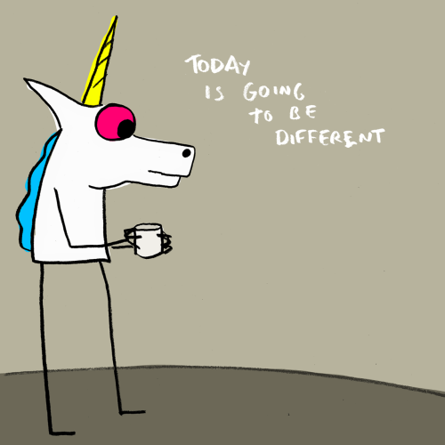 explodingdog:  Today is going to be different.