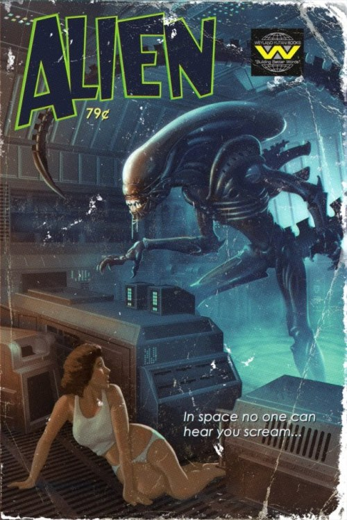 darksideoflucca:  I WANT MORE ALIEN
