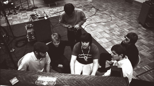 "nprmusic:  Happy 70th birthday, Brian Wilson! Hear the story behind ""Good Vibrations,"" the miniature symphony about a guy picking up vibrations from a girl.  so happy to have seen this man perform in concert"