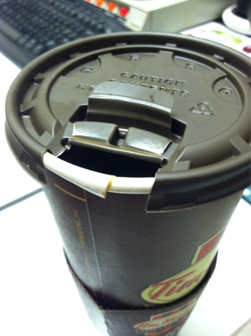 C'mon, Tim Horton's, get your shit together!