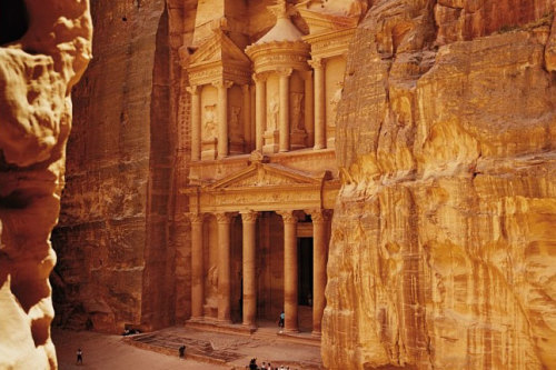 (via Destinations to watch in 2012: Jordan, Photo 3 of 11 (Condé Nast Traveller)) Petra, Jordan