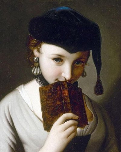brazenswing:  Pietro Antonio Rotari: Girl with a book.