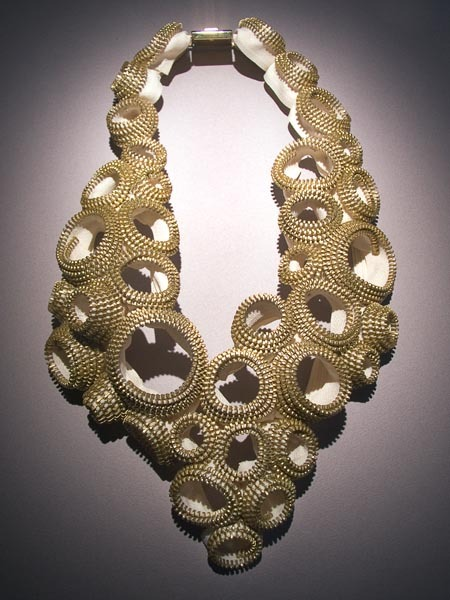 createcreatively:  Zipper Necklace by Kate Cusack