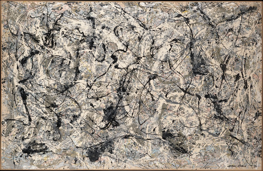 Jackson Pollock - No.28, 1950. Enamel on canvas