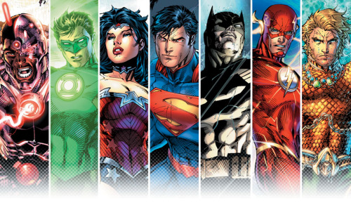 thefandomzone:  THE JUSTICE LEAGUE by Jim Lee