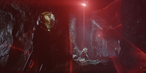 "'Prometheus' visual effects breakdown explains some of the film's key scenes Spoiler-heavy, but it's a great long read and video podcast on the making of the film.  Weta VFX supervisor Martin Hill describing that scene: ""When the previs came in, our jaws hit the floor and we couldn't believe they wanted to go for something this graphic."""