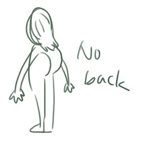deadhookerbodyslam:  NO BACK  Once you lack you never go back