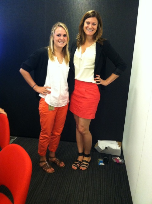 """Oh my god - I LOVE your outfit"" Twinsies - Social@Ogilvy NY"