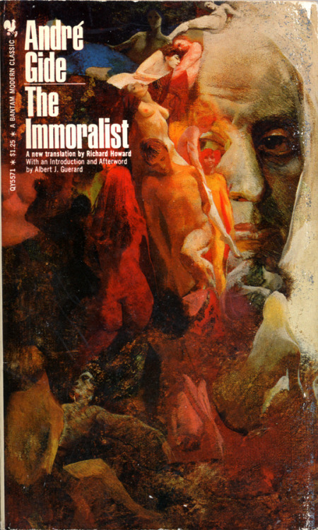 The Immoralist by André Gide • Bantam Books, 1970