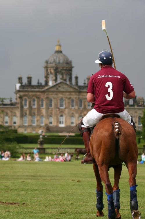 thesixthduke:  Polo at Castle Howard, Yorkshire, England