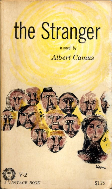 The Stranger by Albert Camus • Cover design by Leo Lionni Vintage Books/Random House, 19??