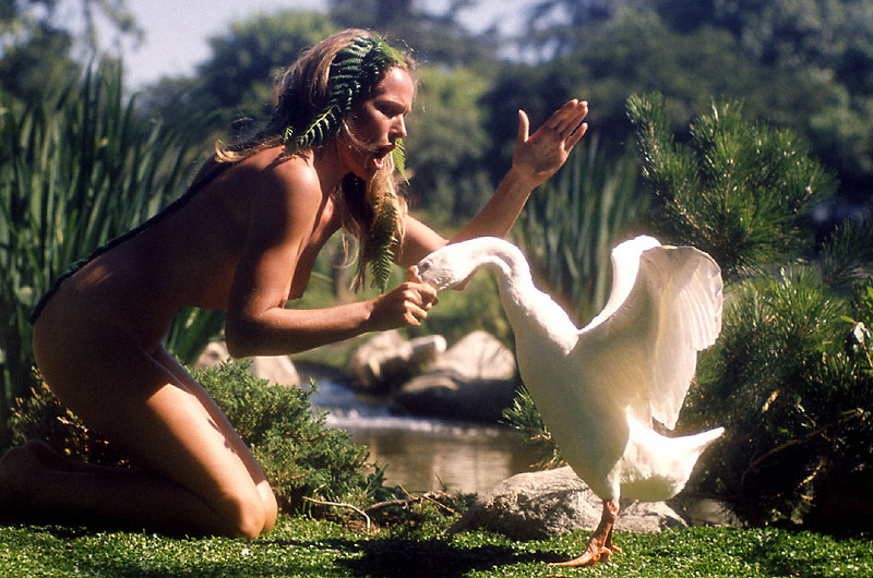 lifeonmars70s:  Ursula Andress   I get the feeling someone was pinch ouch!