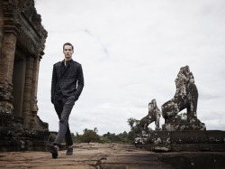 Bergdorf Goodman Menswear ss'12 out now. Shot on location in Cambodia