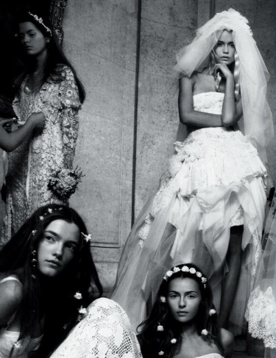 mentalstability:  Natasha Poly, Vlada Roslyakova, and Valentina Zelyaeva by Patrick Demarchelier for Vogue Paris April 2006