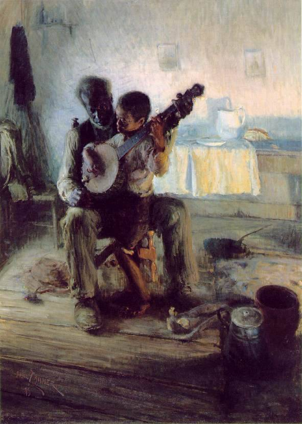 The Banjo Lesson By Henry Ossawa Tanner, 1893