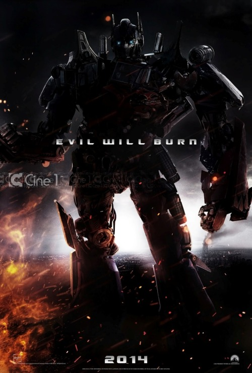 EVIL WILL BURN 2014 popculturebrain:  Poster: 'Transformers 4' | Latino Review, Cine 1