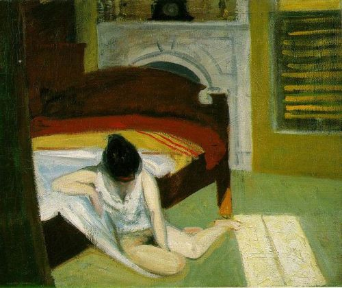 Edward Hopper, Summer Interior, 1909.