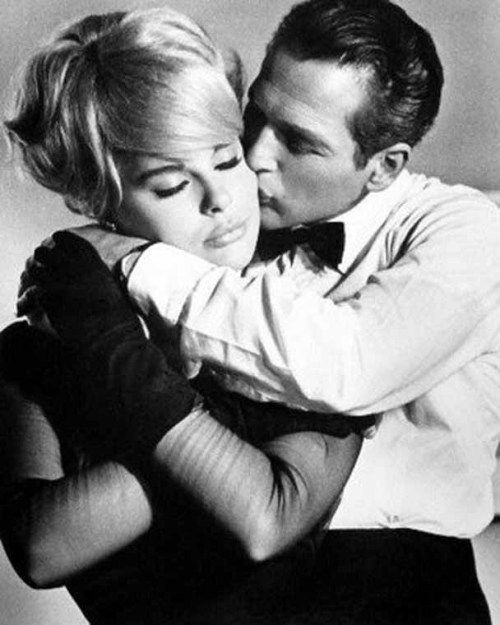 "Elke Sommer and Paul Newman, ""The Prize"", 1960"