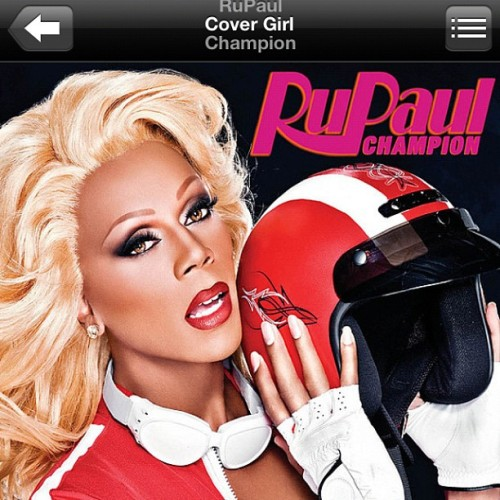 Again. Thanks to @rupaul for helping me WORK IT OUT #fierce #rupaul #iloverupaulanddontcare!  (Taken with Instagram)