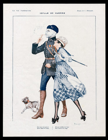 the-seed-of-europe:  Idylle de guerre, Chéri Hérouard for La Vie Parisienne, 1918.