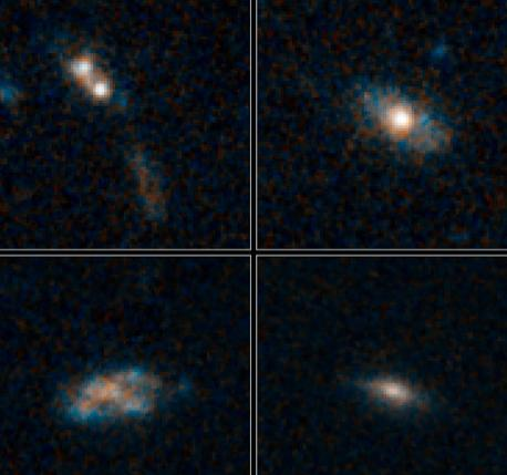 Most Quasars Live On Snacks, Not Large Meals ScienceDaily (June 19, 2012) — Black holes in the early universe needed a few snacks rather than one giant meal to fuel their quasars and help them grow, a new study shows. Continue Reading