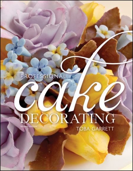 Just added to our collection: Professional Cake Decorating, by Toba Garrett.