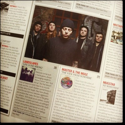 8/10 on our album in rocksound magazine this month! (Taken with Instagram)