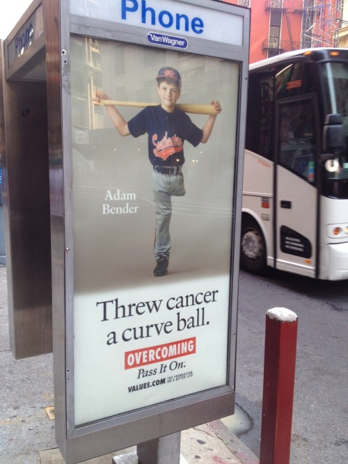 Cancer, to be fair, did score a base hit.