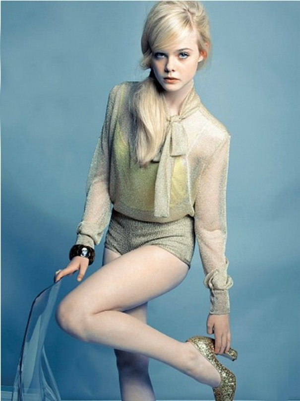 gasstation:  Elle Fanning photographed by Tesh