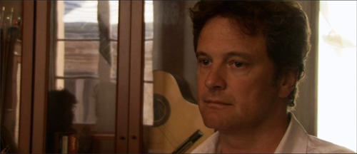 "Colin Firth in ""Genova"". Nice city actually, been there several times, will go again this summer. Sadly unlikely Colin Firth will come included with the visit, but a woman can hope."
