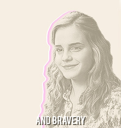 I'VE GOT SUNSHINE ON A CLOUDY DAY: Hermione Granger