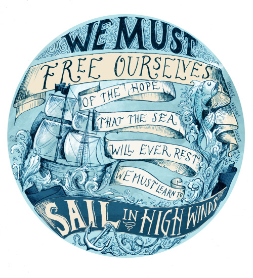 (via Learn to Sail Stretched Canvas by Biljana Kroll | Society6)