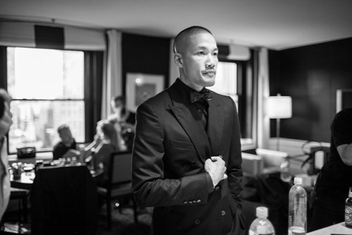 CFDA AWARDS BEHIND THE SCENES: DAO YI CHOW. Photos by @WilliamYan