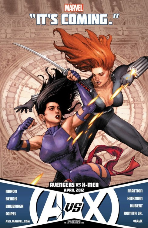 Psylocke vs. Black Widow