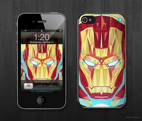 mightymightyboo:  a mock up on iphone. just trying. feel free to visit my portfolio facebook page.  Some cool stuff my friends make…
