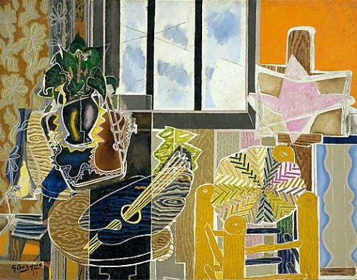 Georges Braque The Studio (Vase before a Window)   1939