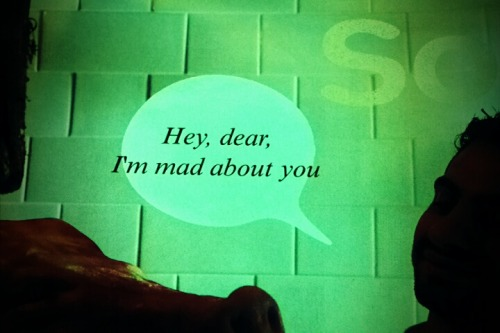 Hey,dear,I'm mad about you.