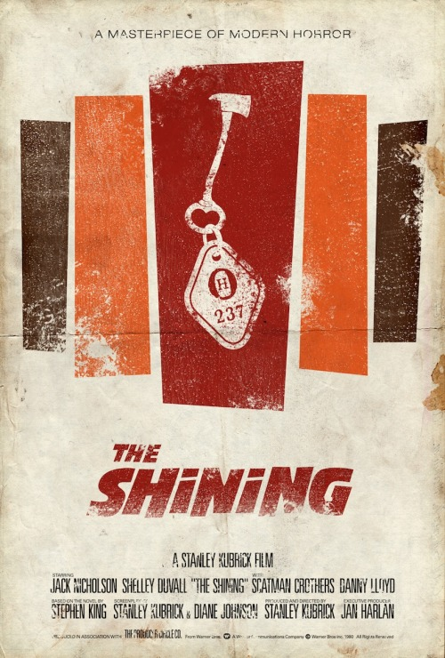The Shining (1980)  artwork by Adam Rabalais