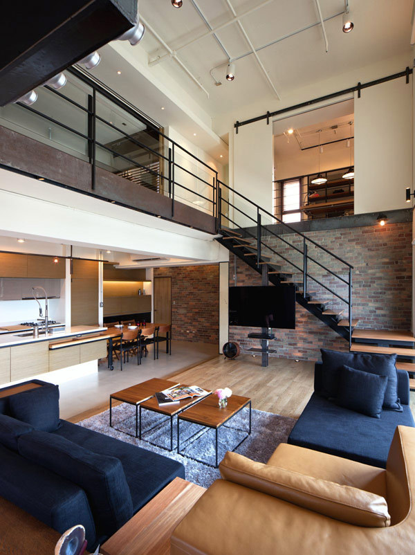 Two-story Penthouse in Taiwan