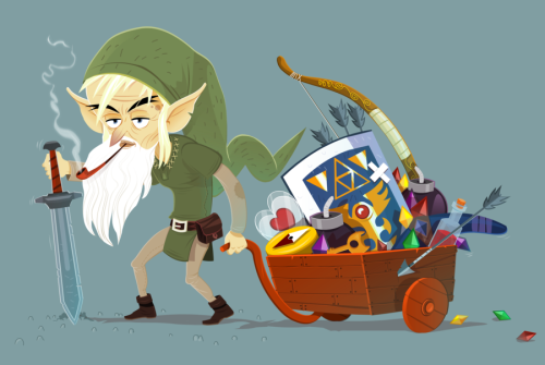 otlgaming:  OLD LINK by MANUEL KILGER (via dotcore)