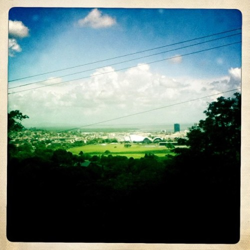 Queen's Park Savannah  #trinidad  (Taken with Instagram at Chancellor Hill)