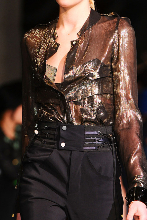 Anthony Vaccarello 2012 Fall