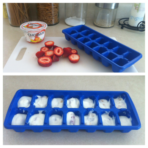 howigothealthy:  theperfectblend:  Making Frozen Yogurt Covered Strawberries For My Husband As A Treat Tonight!  ~Providing a healthy option for us :D (We both have been really good about cutting down on sweets)  I love these! :)