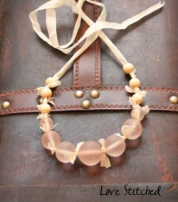DIY j crew Knockoff Necklace via Craftaholics Anonymous
