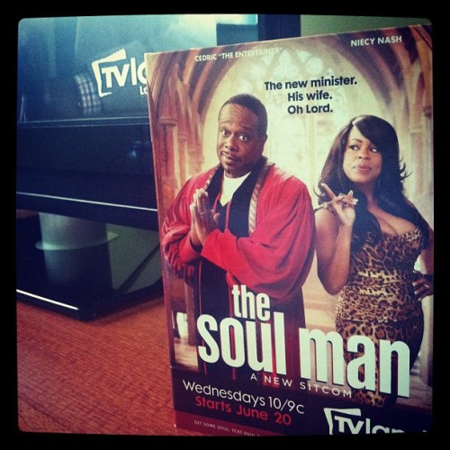 #nw @TVLand #TheSoulMan @CedEntertainer premiers tonight at 10PM #NABJ12 (Taken with Instagram)