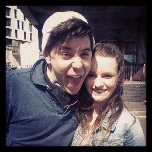 Love this photo of me and @jonlilygreen :)  (Taken with Instagram)